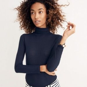Madewell Night Sparkle Turtleneck
